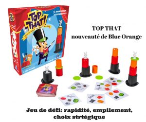 TOP THATnouveau de Blue Orange